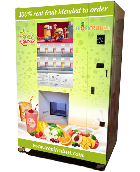 tropifruit smoothie vending machine svm tropifruit. Black Bedroom Furniture Sets. Home Design Ideas